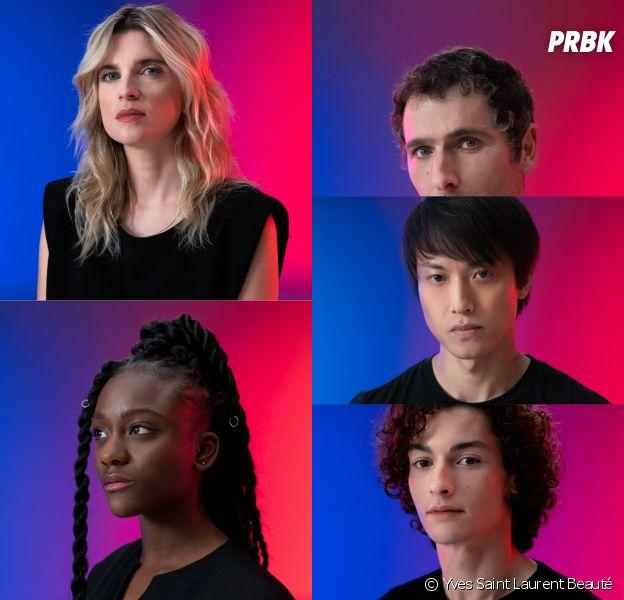 La campagne engagée d'Yves Saint Laurent Beauté (YSL Beauté) contre les violences de couples chez kes jeunes (15-25 ans), avec Assa Sylla, Khaled Alouach, Cécile Cassel, Guang Huo et Simon Buret
