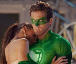 Ryan Reynolds et Blake Lively dans le film Green Lantern