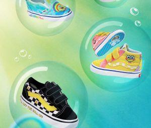 Vans x Bob l'éponge (SpongeBob SquarePants en VO) : deux collaborations de sneakers et vêtements aux couleurs du héros de Nickelodeon sortent le 4 juin 2021