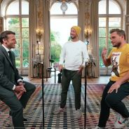 McFly et Carlito affrontent Emmanuel Macron dans le concours d'anecdotes : leur vidéo divise