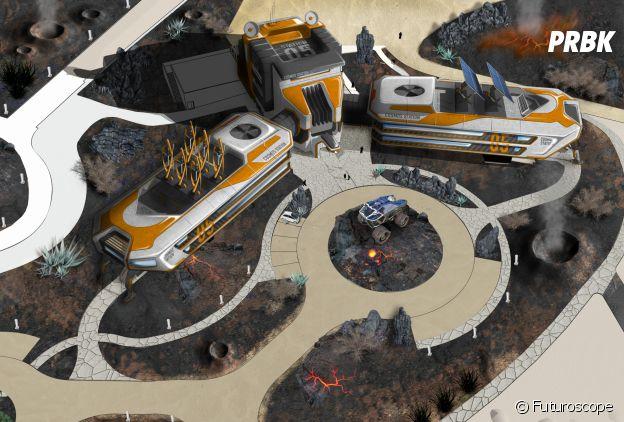 Le Futuroscope : le projet du nouvel hôtel Station Cosmos