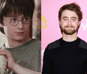 Daniel Radcliffe dans le premier film Harry Potter VS aujourd'hui