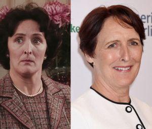 Fiona Shaw dans le premier film Harry Potter VS aujourd'hui