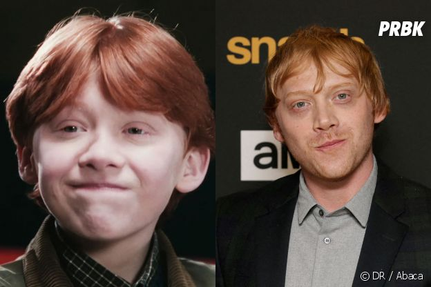 Rupert Grint dans le premier film Harry Potter VS aujourd'hui