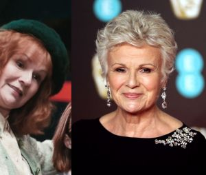 Julie Walters dans le premier film Harry Potter VS aujourd'hui