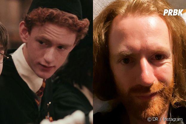 Chris Rankin dans le premier film Harry Potter VS aujourd'hui