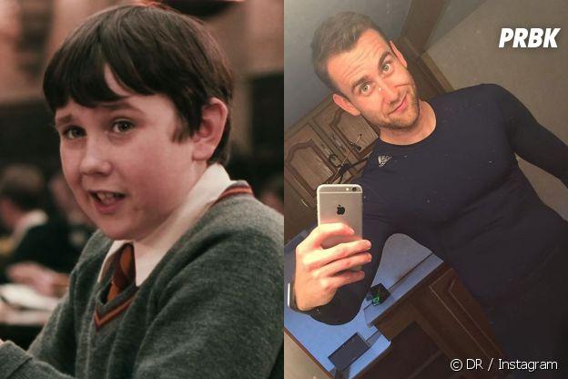 Matthew Lewis dans le premier film Harry Potter VS aujourd'hui