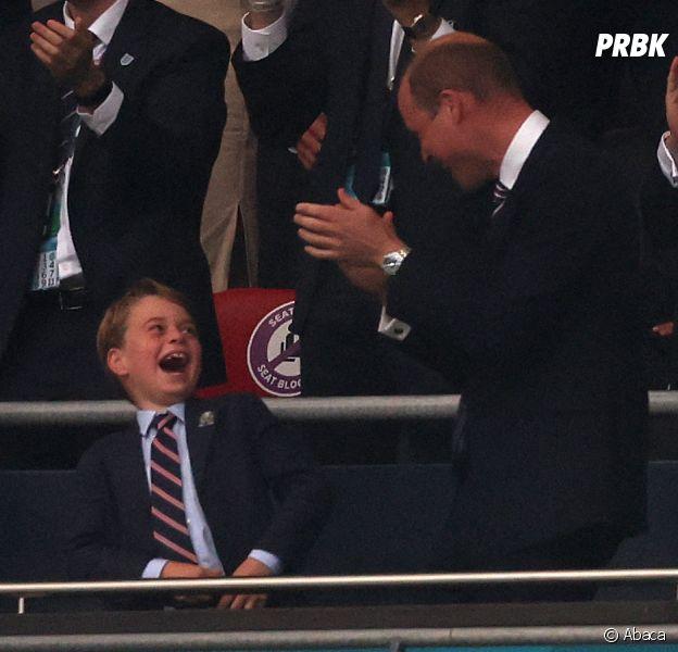 Euro 2020 : la joie (et la déprime) du Prince George durant la finale font marrer tout le monde