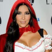 Kim Kardashian ... Elle s'éclate sur le tournage de son clip