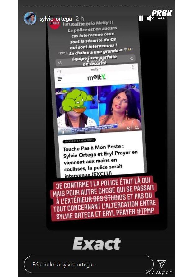 TPMP : les proches de Loana continuent la guerre sur les réseaux. Sylvie Ortega accuse Eryl Prayer de l'avoir frappée dans les coulisses, elle raconte