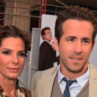 Ryan Reynolds ... il passe beaucoup de temps avec le bébé de ... Sandra Bullock