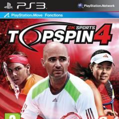 Top Spin 4 ... quel joueur dans le jeu et qui sur la jaquette