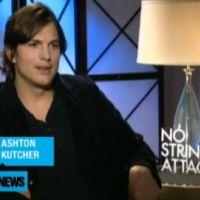 Ashton kutcher ... il parle des scènes de sexe dans son nouveau film