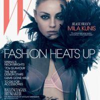 Mila Kunis ... Elle joue son ange noir super sexy pour W Magazine