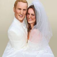 Kate Middleton et Prince William ... Un gâteau de mariage à leur effigie (PHOTO)