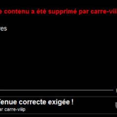 Carré ViiiP ... Xenia sans culotte ... la vidéo supprimée par TF1