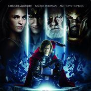Thor avec Chris Hemsworth et Natalie Portman ... une nouvelle affiche française dévoilée