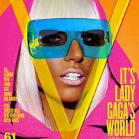 Lady Gaga ... chroniqueuse mode pour un magazine