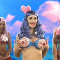 Katy Perry et Lady Gaga ...  nouvelle parodie délirante ... avec Justin Bieber et Kesha (VIDEO)