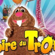 René la Taupe à Paris ... flash mob à la Foire du Trône