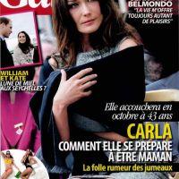 Carla Bruni enceinte ... un accouchement en octobre selon Gala