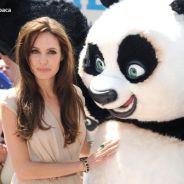 Angelina Jolie à Cannes ... Eblouissante pour l'avant-première de Kung-Fu Panda 2 (PHOTOS)
