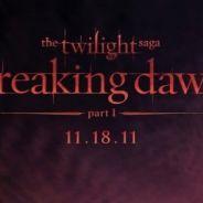 Twilight 4 Révélation ... le crépuscule se lève sur le premier poster (PHOTO)