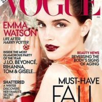 Emma Watson ... sublime en couverture de Vogue