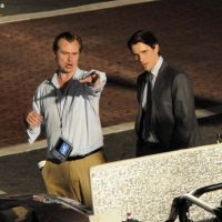 PHOTOS - The Dark Knight Rises : Christian Bale en tournage