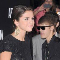Justin Bieber et Selena Gomez séparés : le temps de sortir du restaurant (VIDEO)