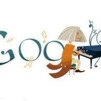 Doodle du jour : Google fête les 200 ans du musicien Franz Liszt