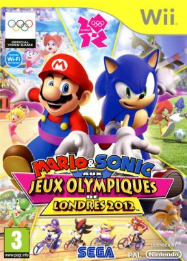 mario sonic aux jeux olympiques de londres 2012 sur wii. Black Bedroom Furniture Sets. Home Design Ideas