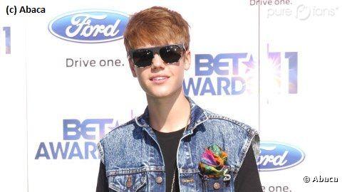 Justin Bieber prend la pose