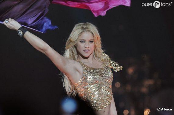 Shakira en concert à Paris