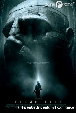 Affiche internationale de Prometheus
