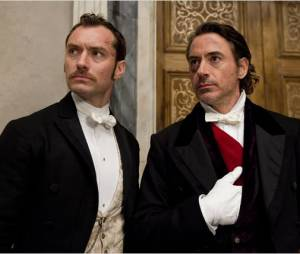 Robert Downey Jr. et Jude Law dans la suite de Sherlock Holmes