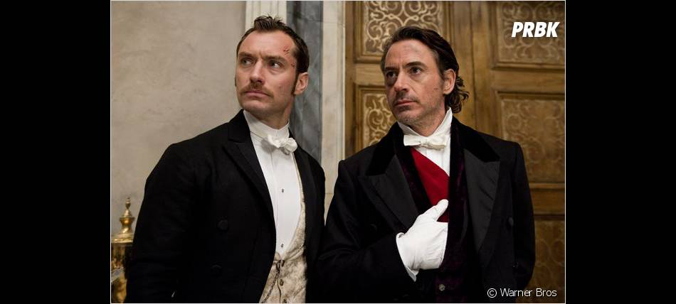 Robert Downey Jr. et Jude Law dans la suite de Sherlock Holmes