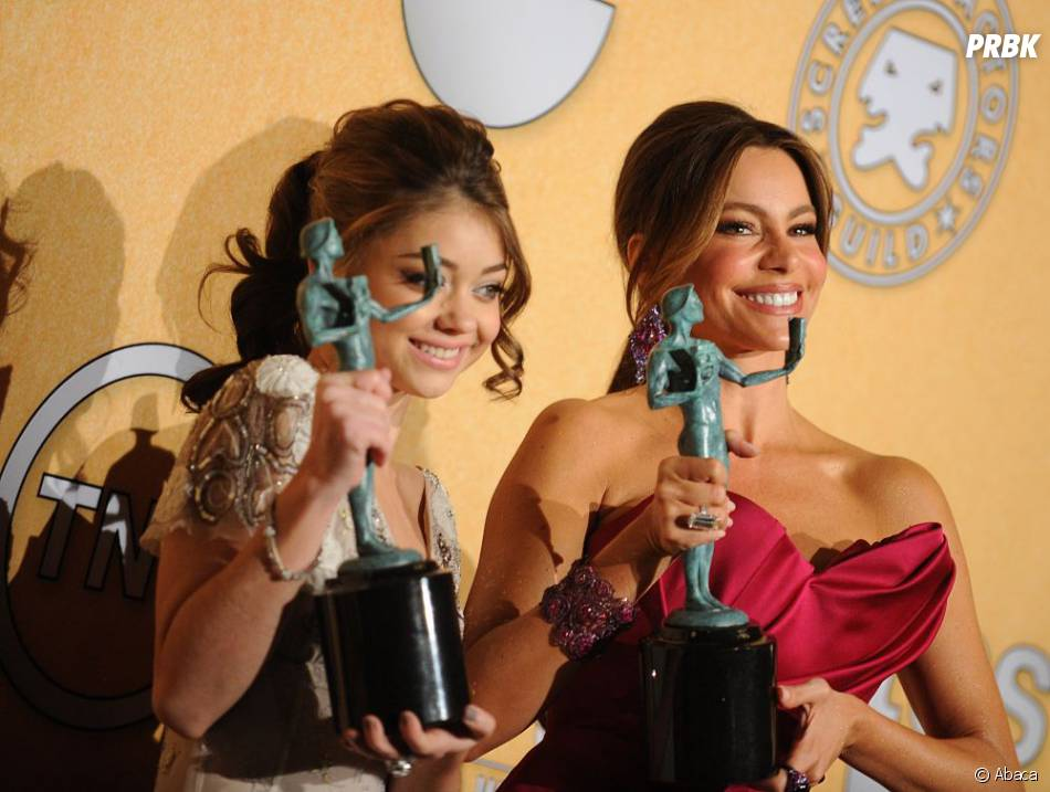 Sofia Vergara et Sarah Hyland aux SAG Awards