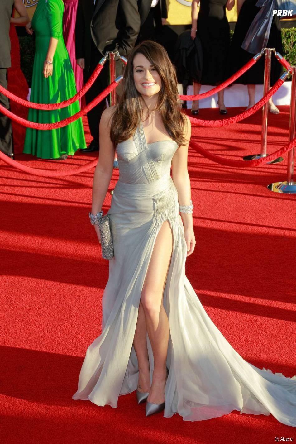 Lea Michele arrive aux SAG Awards