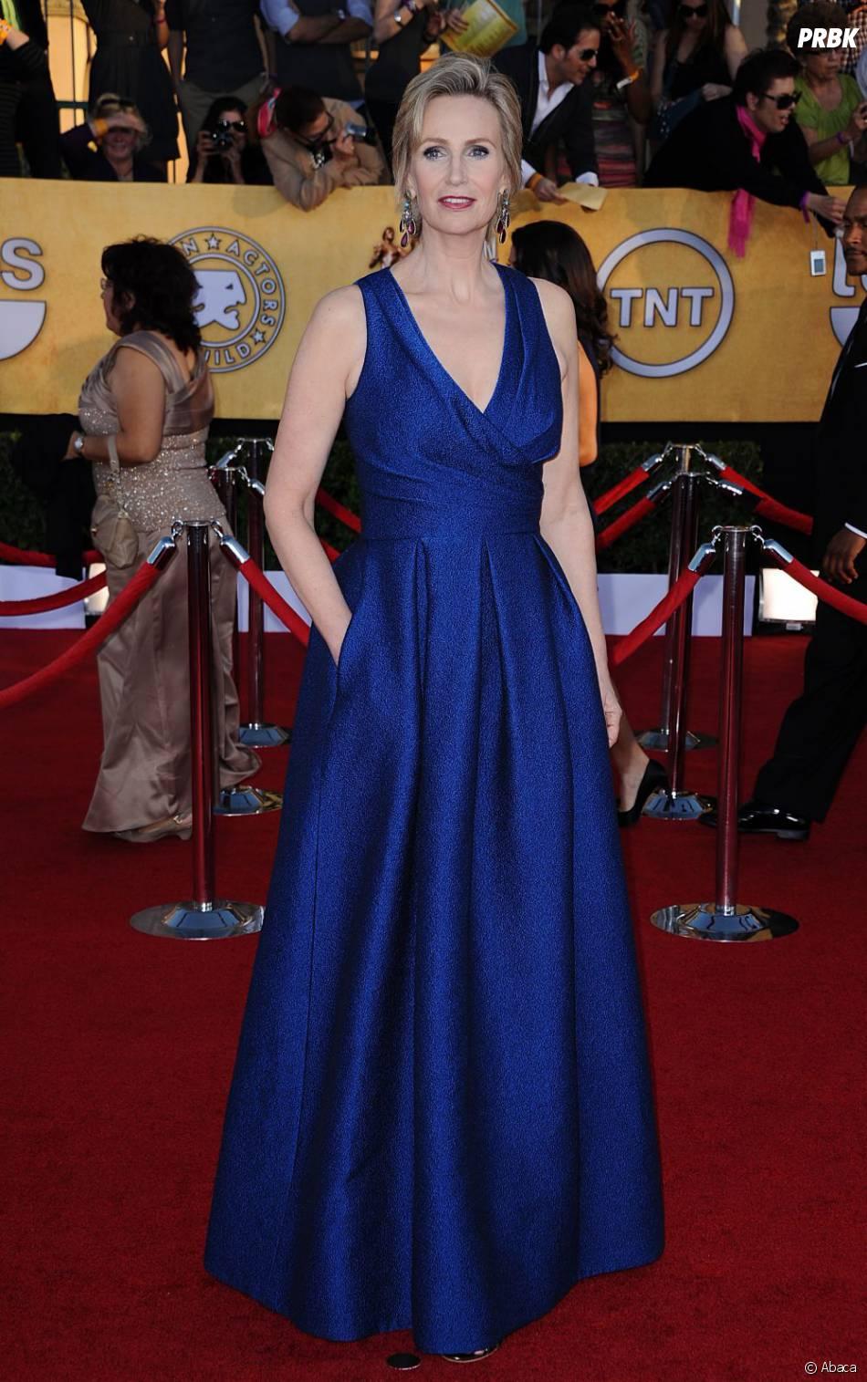 Jane Lynch arrive aux SAG Awards
