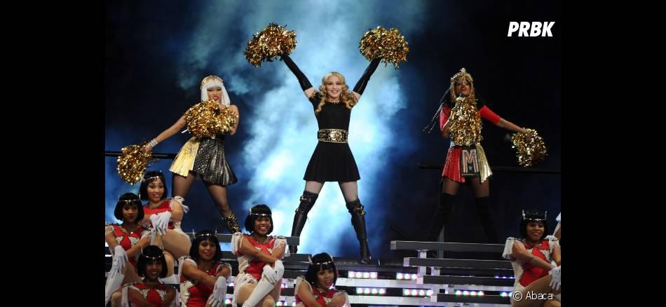 Madonna avec Nicki Minaj et M.I.A.