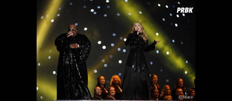 Madonna et Cee Lo Green
