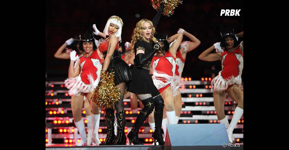 Madonna et Nicki Minaj s'éclatent