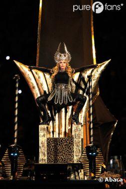 Madonna a la classe pour le Super Bowl