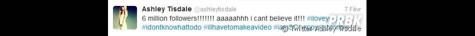 Ashley Tisdale jubile