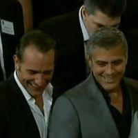 Jean Dujardin et George Clooney : les meilleurs ennemis se marrent ! (VIDEO)