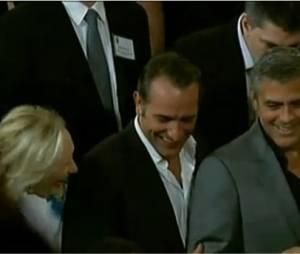 Jean Dujardin et George Clooney super potes