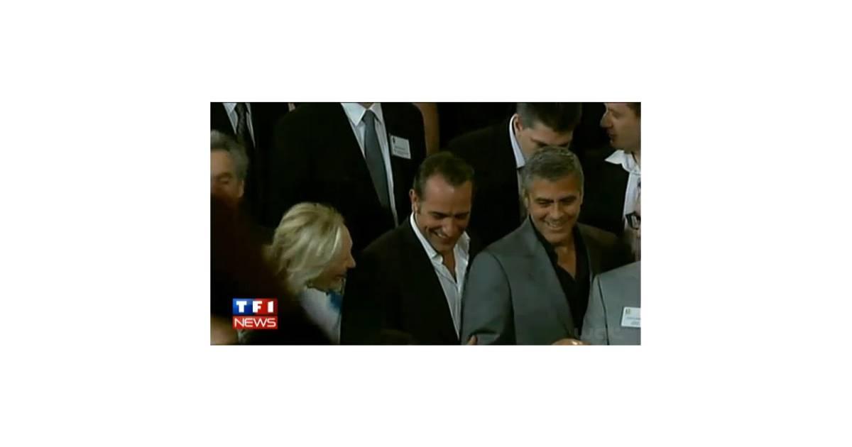 Jean dujardin et george clooney les meilleurs ennemis se - Jean dujardin et george clooney ...
