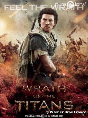 Nouve poster du film La Colère des Titans