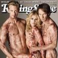 Anna Paquin, Alexander Skarsgard et Stephen Moyen en une de Rolling Stone
